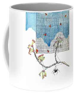 Coffee Mug featuring the painting You Are Special by Katherine Miller
