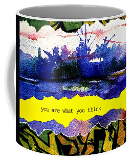 You Are What You Think Collage 2 Coffee Mug