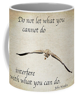 You Can Do It  Coffee Mug by Kerri Farley