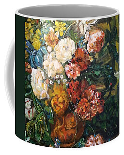 Coffee Mug featuring the painting You Light Up My Life by Belinda Low