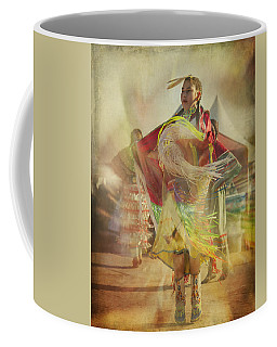 Young Canadian Aboriginal Dancer Coffee Mug