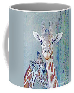 Young Giraffes Coffee Mug