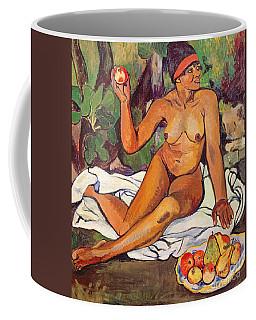 Young Half Caste Woman Coffee Mug
