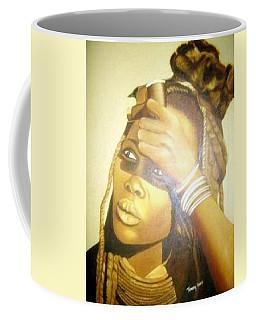 Young Himba Girl - Original Artwork Coffee Mug