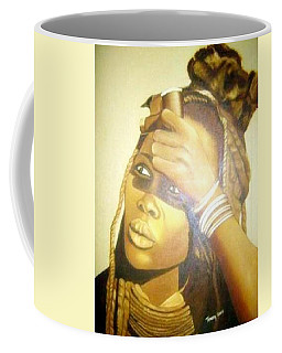 Young Himba Girl - Original Artwork Coffee Mug