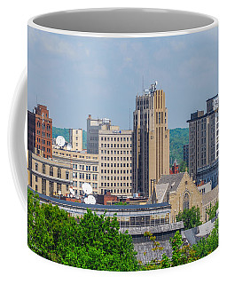 D39u-2 Youngstown Ohio Skyline Photo Coffee Mug