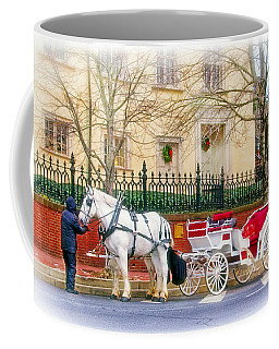 Your Carriage Awaits Coffee Mug