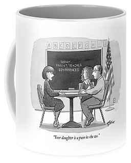 Your Daughter Is A Pain In The Ass Coffee Mug