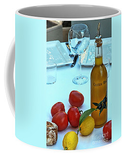 Coffee Mug featuring the photograph Your Table Is Ready by Allen Beatty