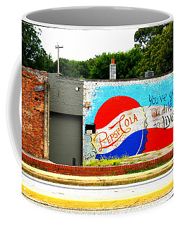 You've Got A Life To Live Pepsi Cola Wall Mural Coffee Mug by Kathy Barney
