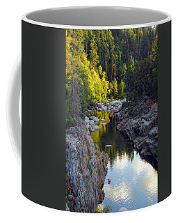 Yuba River Twilight Coffee Mug