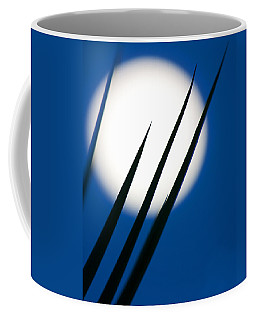Coffee Mug featuring the photograph Yucca Moon by Jim Garrison