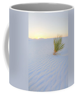 Coffee Mug featuring the photograph Yucca Plant At White Sands by Alan Vance Ley