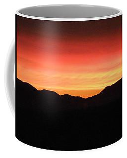 Yukon Gold And Crimson Coffee Mug