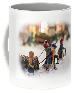 Yule Log Coffee Mug
