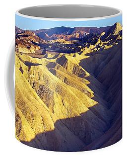 Coffee Mug featuring the photograph Zabriski Point #2 by Stuart Litoff