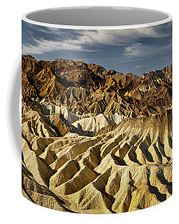 Zabriskie Point Panorama Coffee Mug by Eduard Moldoveanu