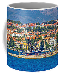 Zadar Waterfront Sea Organs View Coffee Mug