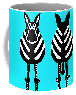 Zebra - Both Ends Coffee Mug