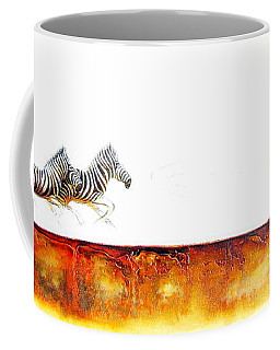 Zebra Crossing - Original Artwork Coffee Mug