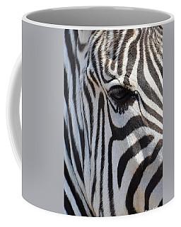 Zebra Eye Abstract Coffee Mug
