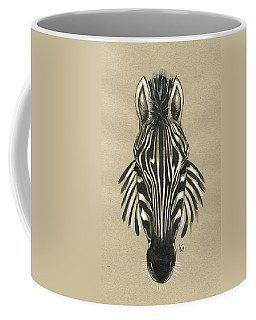 Zebra Front Coffee Mug