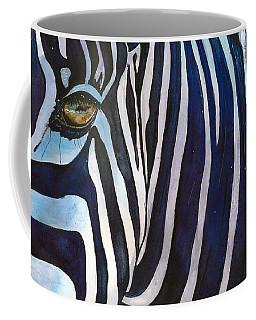 Zebra Zones Out Coffee Mug