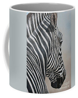 Zebra Look Coffee Mug