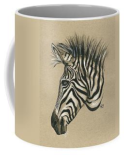 Zebra Profile Coffee Mug