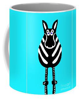 Zebra - The Front View Coffee Mug