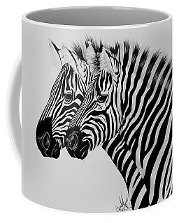 Zebra Twins Coffee Mug