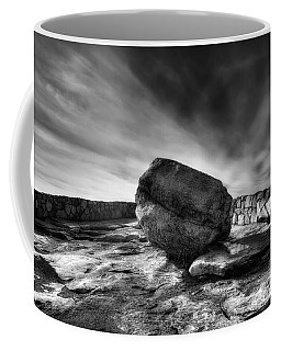 Zen Black White Coffee Mug