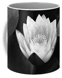 Coffee Mug featuring the photograph Waterlily Rising  by John F Tsumas