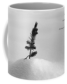 Coffee Mug featuring the photograph Zen Wisdom Stillness by Peter v Quenter