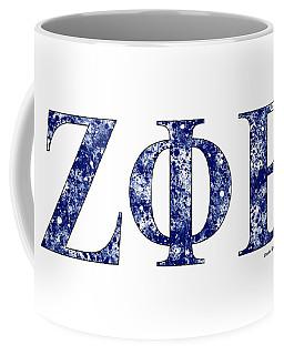 Zeta Phi Beta - White Coffee Mug