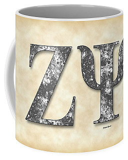 Zeta Psi - Parchment Coffee Mug