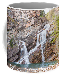 Zigzag Waterfall Coffee Mug by John M Bailey