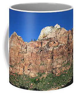 Coffee Mug featuring the photograph Zion Wall by Jemmy Archer