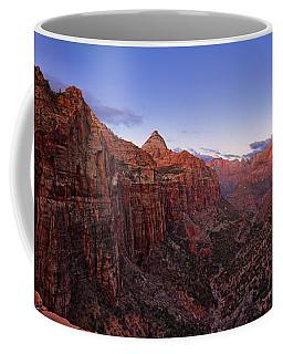 Zion's Twilight Coffee Mug
