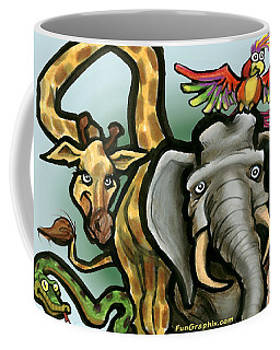 Zoo Animals Coffee Mug