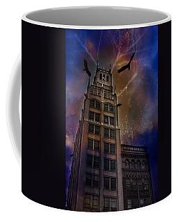 Zuul Visits Asheville Coffee Mug