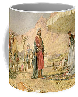 A Frank Encampment In The Desert Of Mount Sinai Coffee Mug