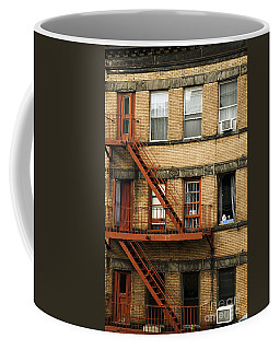 Fire Escapes - Nyc Coffee Mug