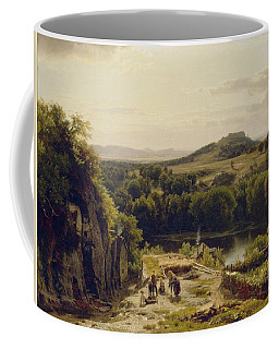 Landscape In The Harz Mountains Coffee Mug