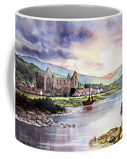 Late Evening At Tintern Abbey Coffee Mug