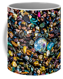 Coffee Mug featuring the photograph  Pebbles  by Mitch Shindelbower