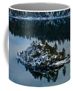 Coffee Mug featuring the photograph  Snow Covered Reflection by Mitch Shindelbower