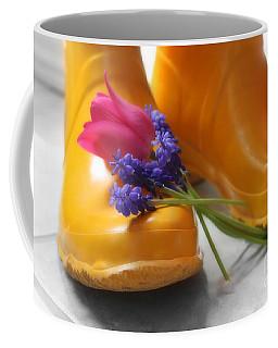 Spring Boots Coffee Mug