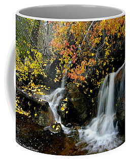 Coffee Mug featuring the photograph  Waterfall by Mitch Shindelbower