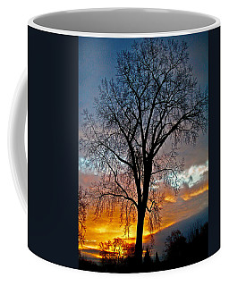 Coffee Mug featuring the photograph A New Day Begins ... by Juergen Weiss